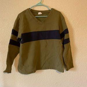 3/$20 Moda International Boxy Sweatshirt Sz M